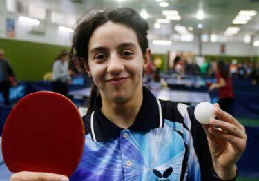 Hend Zaza, la más joven de los Juegos Olímpicos