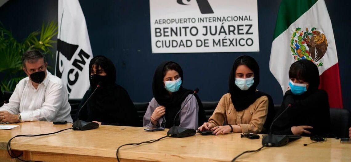 México recibe a primeras refugiadas procedentes de Afganistán