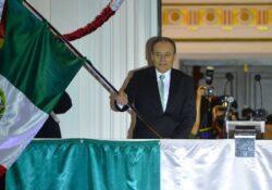 Encabeza gobernador Alfonso Durazo Grito de Independencia