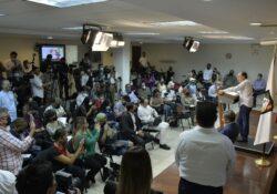 Alfonso Durazo anuncia nuevos nombramientos de titulares de dependencias