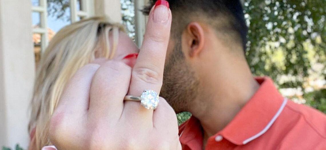 Britney Spears está comprometida con Sam Asghari