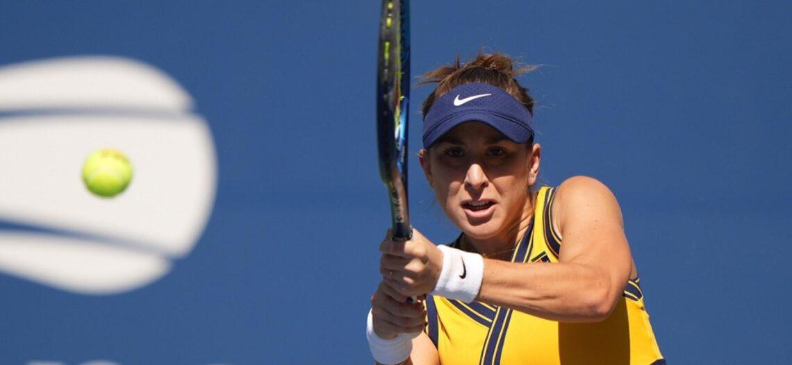La campeona olímpica avanza en el US Open