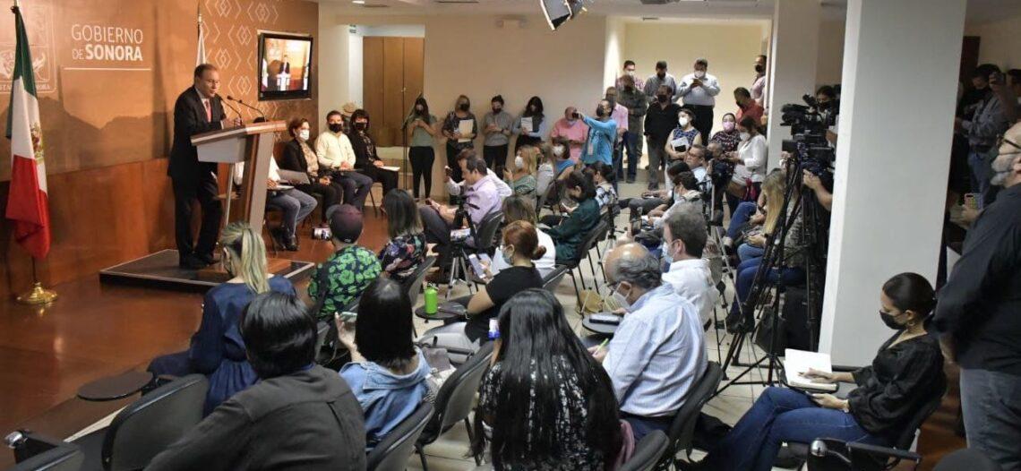 Gobernador Alfonso Durazo presenta programa integral de infraestructura para Sonora