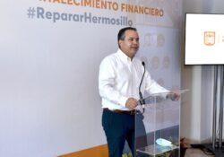 Anuncia Toño Astiazarán Plan de Fortalecimiento Financiero