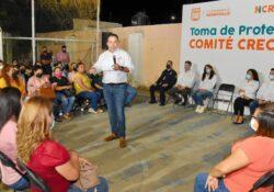 Conforman seis nuevos comités CRECES en la colonia Pueblitos