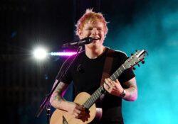 Ed Sheeran está aislado después de dar positivo a Covid-19