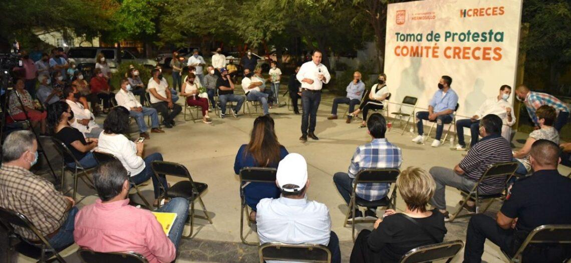 Serán los Comités CRECES, la columna vertebral del Gobierno Municipal: Antonio Astiazarán
