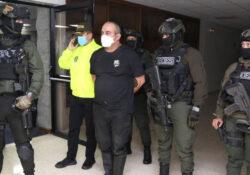 Colombia planea extraditar a EU a narco 'Otoniel', líder de Clan del Golfo